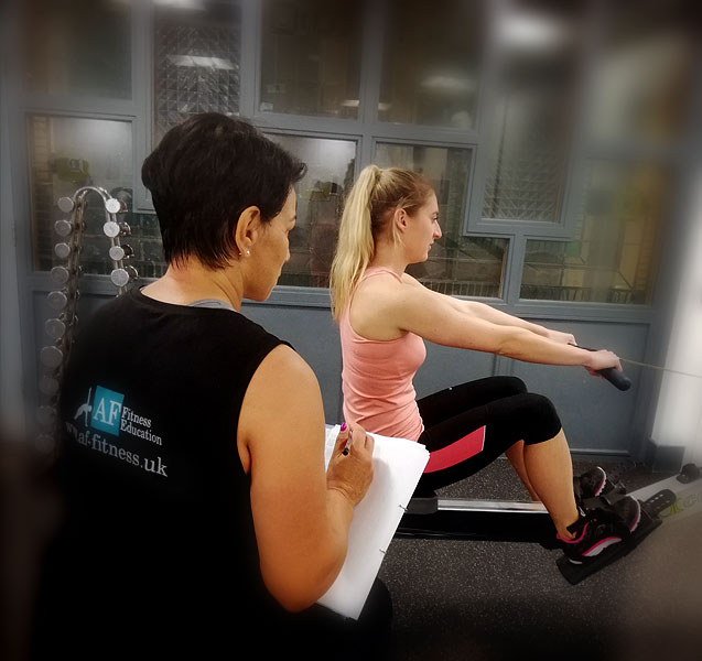 Gym instructor qualification taught by Anna Falzarano
